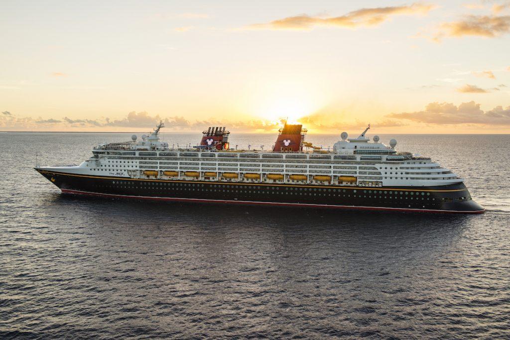 Disney Cruise Line - Le Disney Magic en mer
